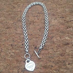 925 silver Tiffany's chain necklace